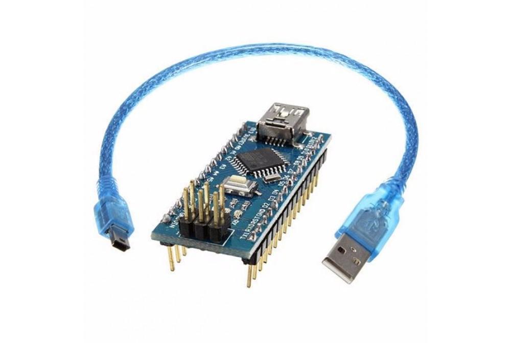 ARDUINO NANO COMPATIBLE CH340+ CABLE MINI USB