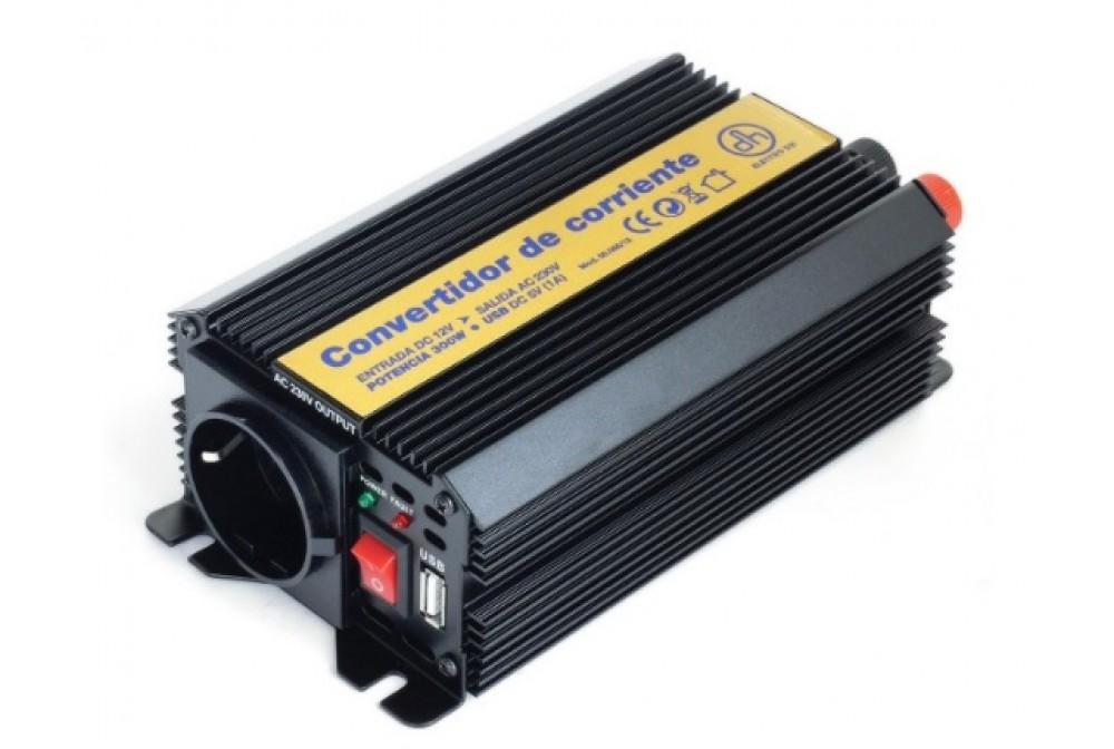 INVERSOR DE CORRIENTE 12 VDC A 230VAC 600W