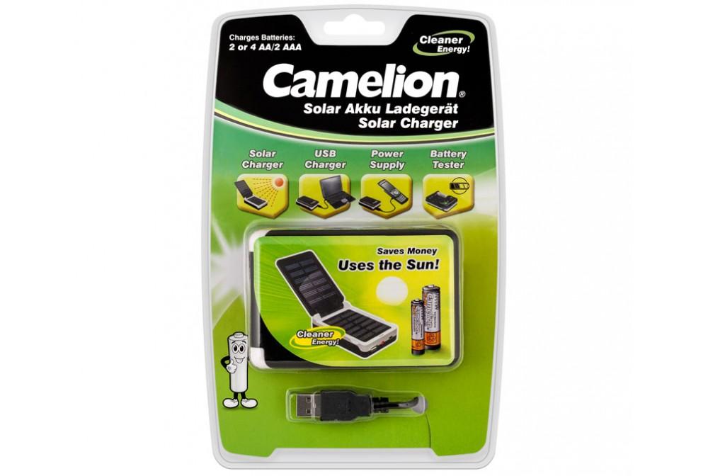 CARGADOR SOLAR Y POR USB