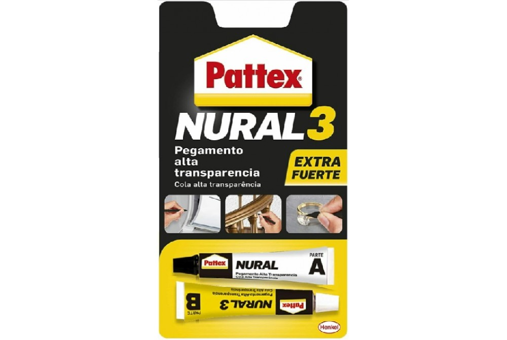 PATTEX NURAL 3 2TUBOS 11ML