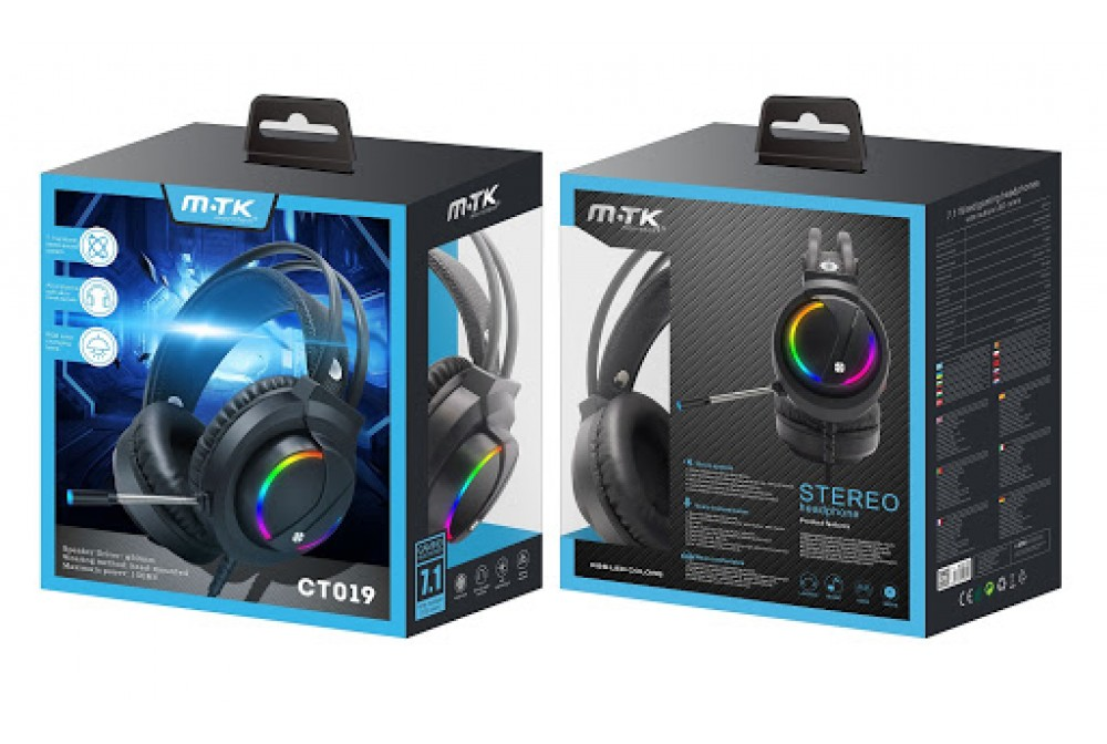 AURICULAR CASCO GAMING CT020