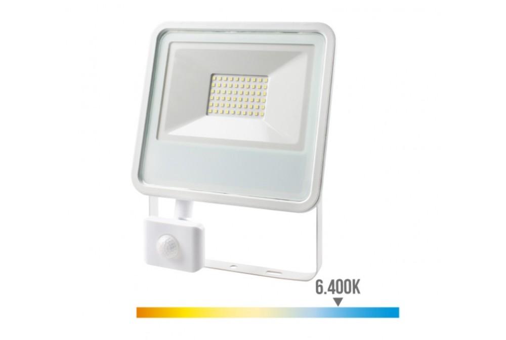 FOCO LED CON SENSOR 50W 6400K 3500lm