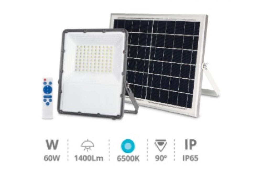 FOCO PROYECTOR LED SOLAR 60W 860