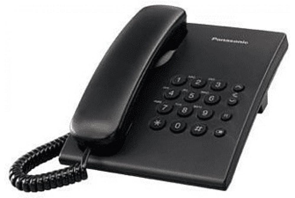 TELEFONO SOBREMESA BLANCO NEGRO