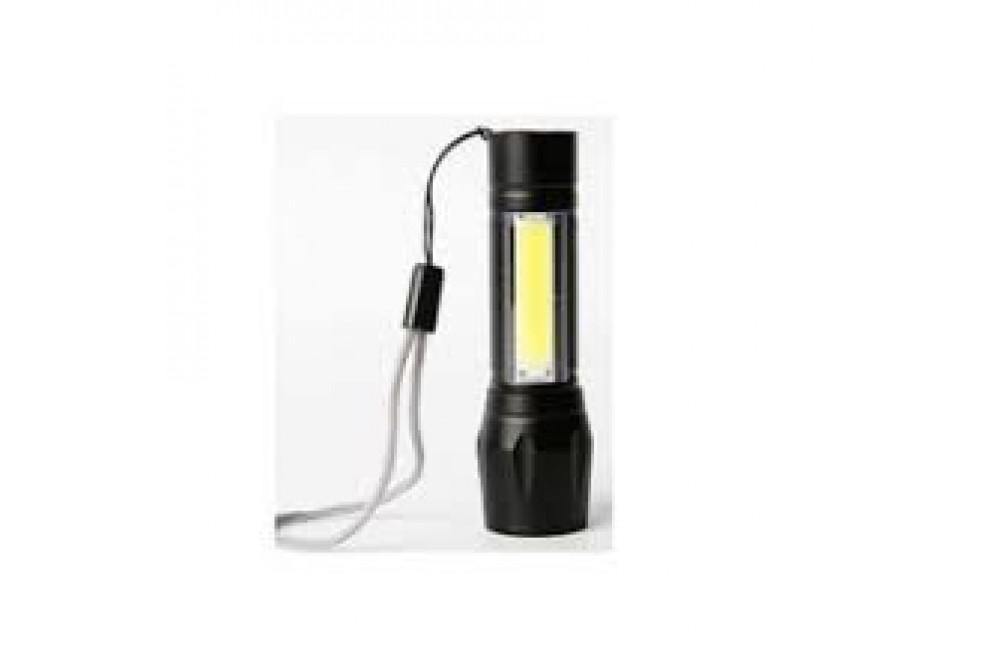 LINTERNA LED USB 1W+ 2W 400mAH