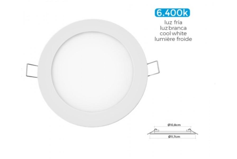 DOWNLIGHT MINI LED 6W 320lm REDONDO  12cm