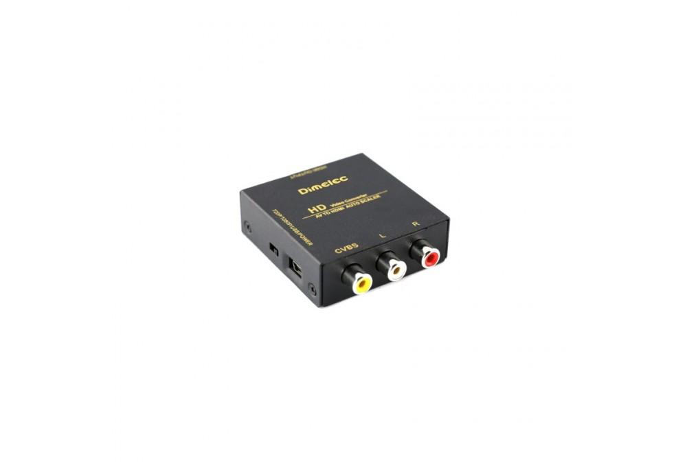 CONVERSOR ENTRADA RCA - SALIDA HDMI