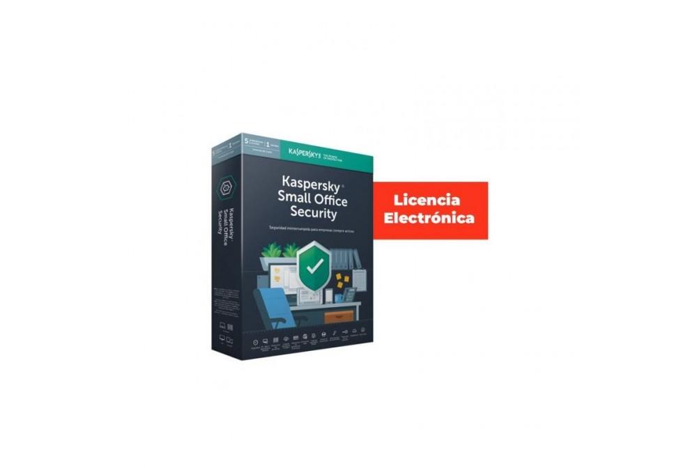 ANTIVIRUS KASPERSKY SMALL OF. SEC. SERVER 7.0 + 5L (LIC. ELECTRONICA )
