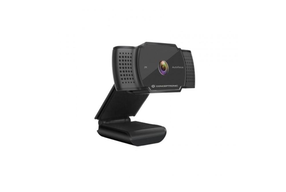 WEBCAM 2K SUPER HD MICRÓFONO INTEGRADO ENFOQUE AUTO CONCEPTRONIC