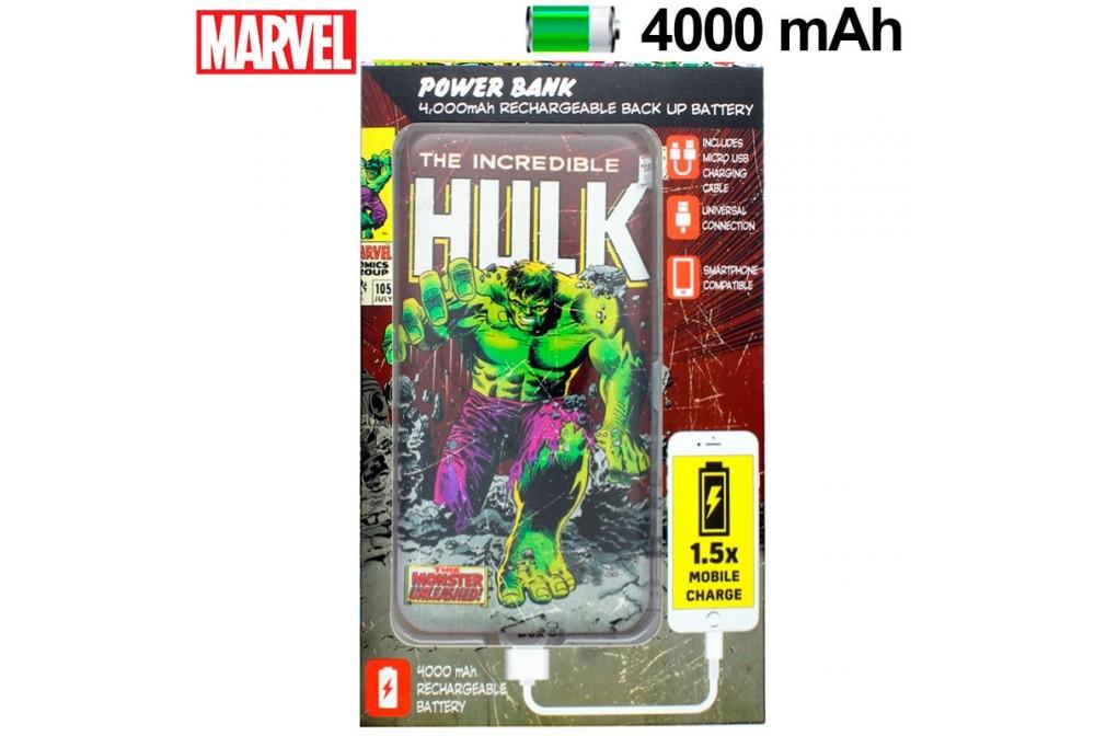 POWERBANK 4000 MAH MARVEL HULK