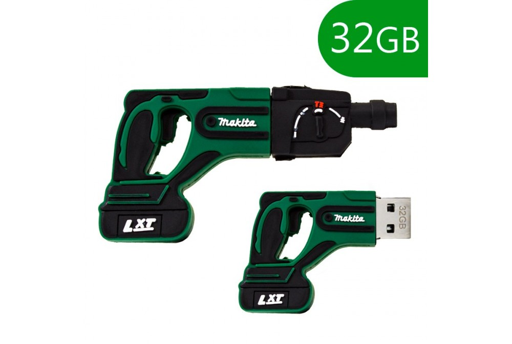PEN DRIVE USB X32 GB SILICONA TALADRO