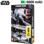 POWER BANK 6000 MAHSTAR WARS DARTH