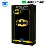 POWER BANK 6000 MAH  DC BATMAN