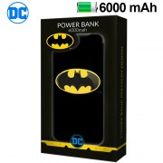 POWER BANK 6000 MAH  DC BATMAN
