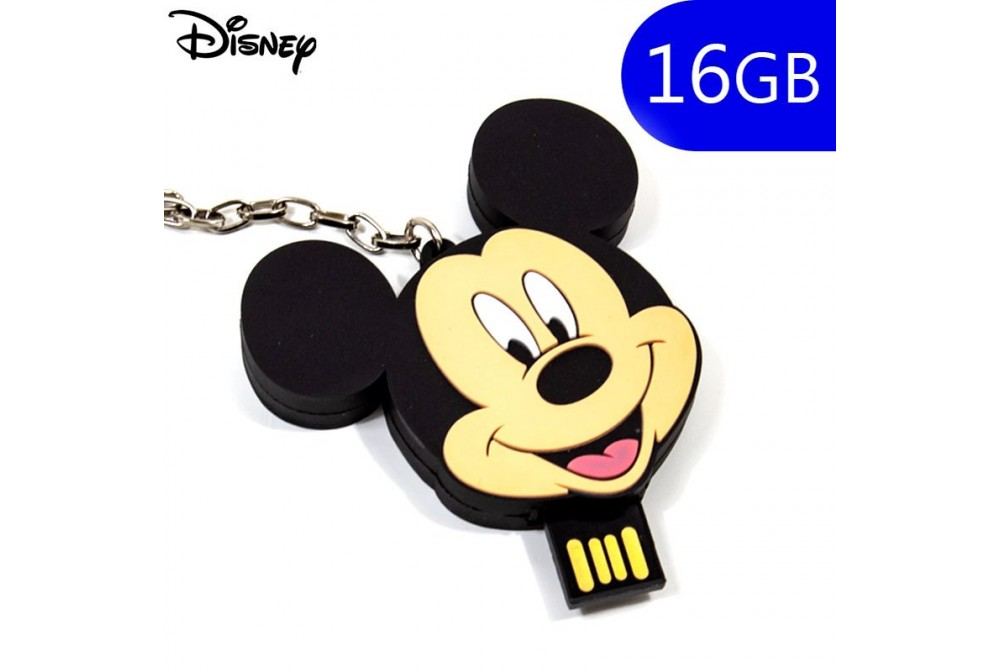PEN DRIVE USB X16 GB SILICONA LICENCIA DISNEY MICK