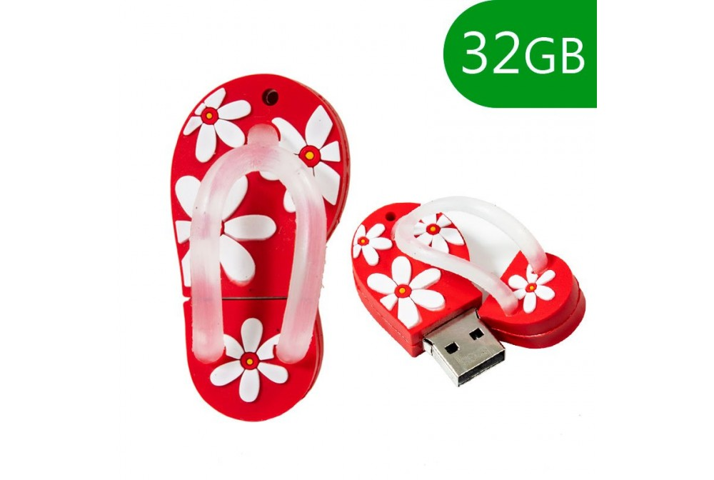 PEN DRIVE USB X32 GB SILICONA CHANCLA