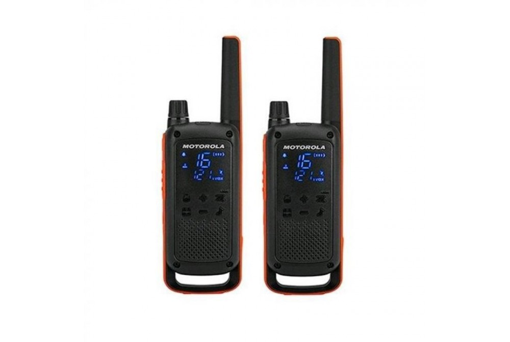 WALKIE TALKIE TLKR-T82 NEGRO PACK 2 NEGRO MOTOROLA