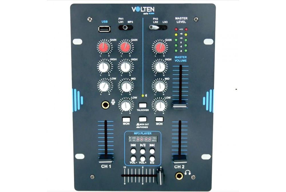 MESA DE MEZCLAS DJ VL300 VOLTEN