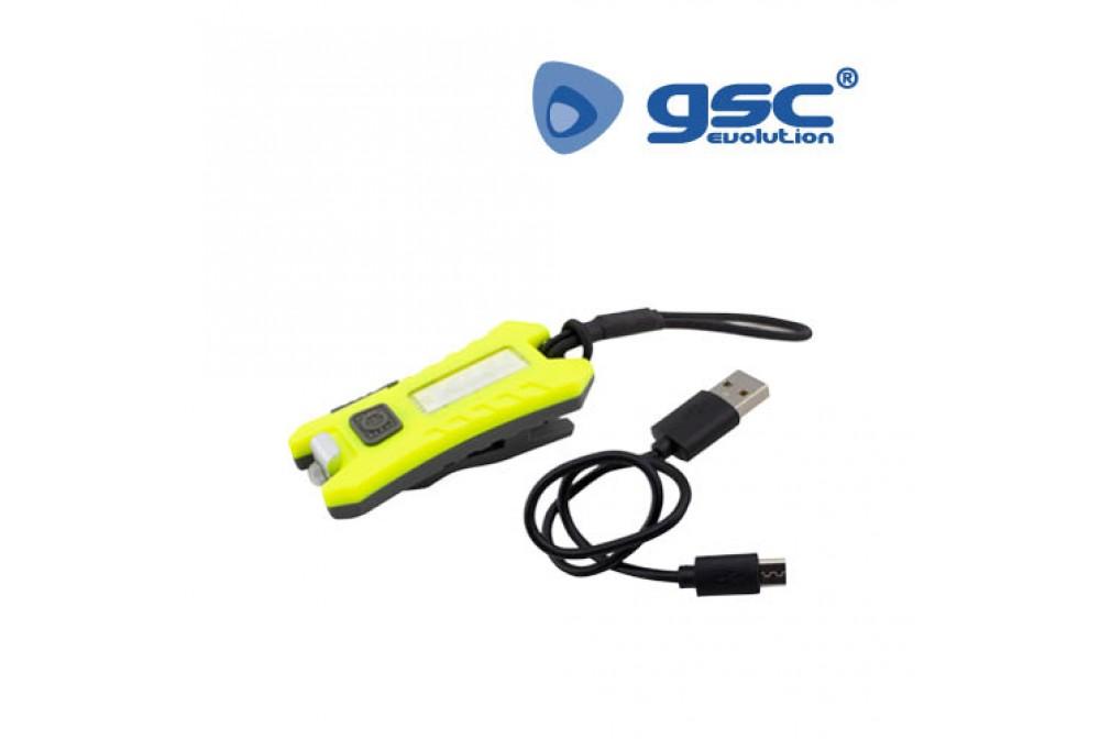 LINTERNA DEPORTE RECARGABLE USB