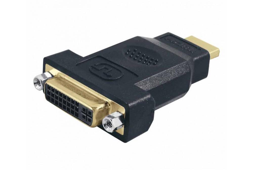 ADAPTADOR DVI 24+5 HEMBRA A HDMI MACHO