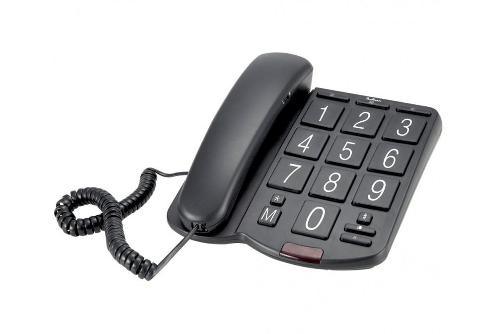 TELEFONO SOBRE MESA TECLAS GRANDES