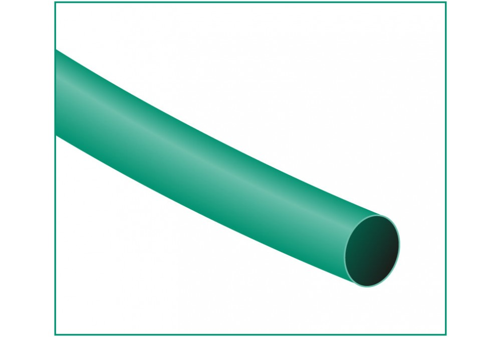FUNDA TERMORETRACTIL 1.2X1200MM VERDE