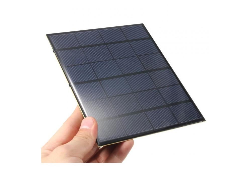 PANEL SOLAR, 6V, 3,5W, 583MA, 165X135MM