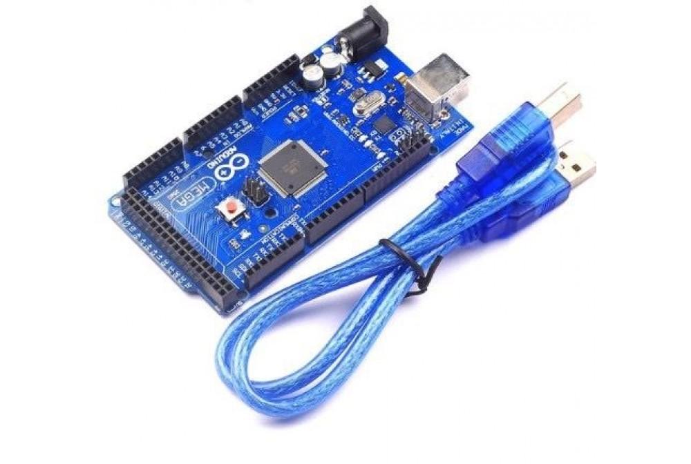 ARDUINO MEGA COMPATIBLE ATMEGA16U2 + CABLE USB