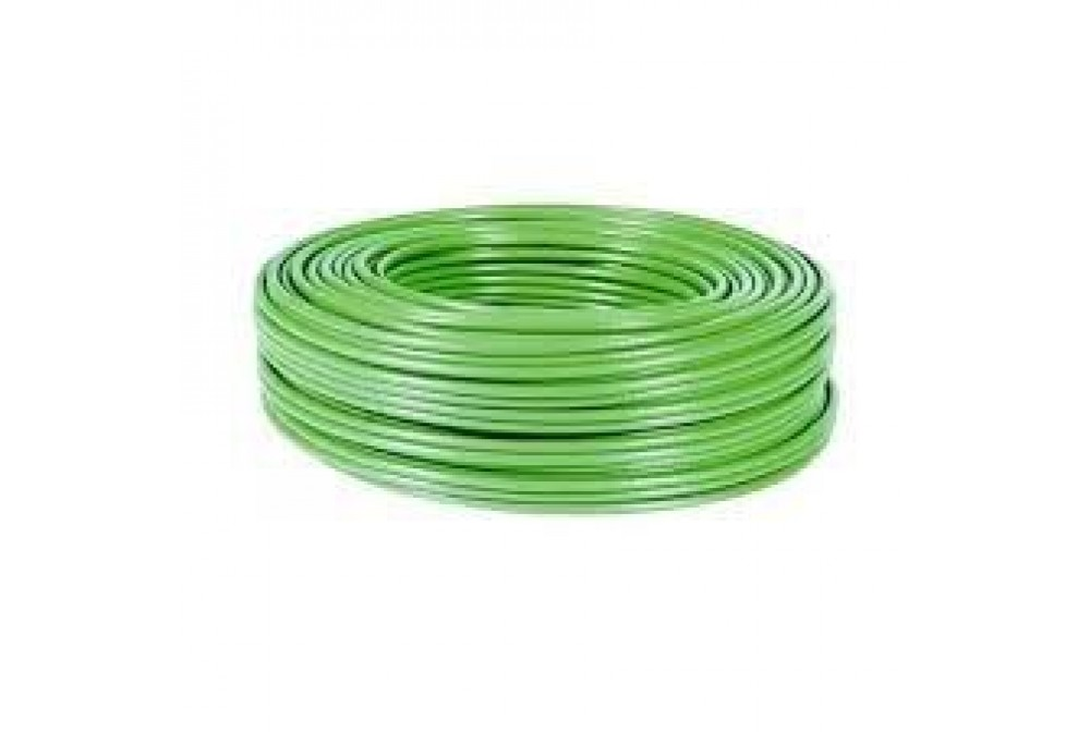 CABLE RÍGIDO AWG24, HILO DE 0,5MM, 5MTS VERDE