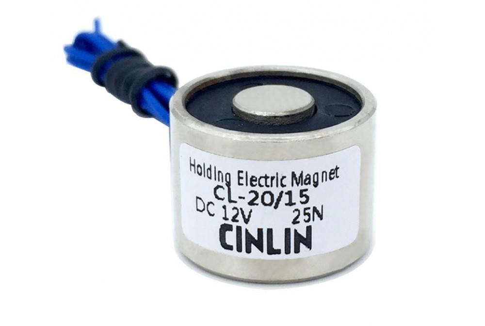 ELECTROIMÁN ZYE1-P25/ 20 12VDC