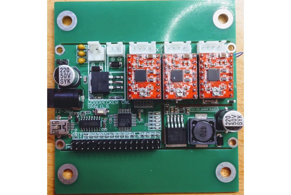 CONTROLADORA WOODPECKER CNC GRBL 0.9 CNC1610