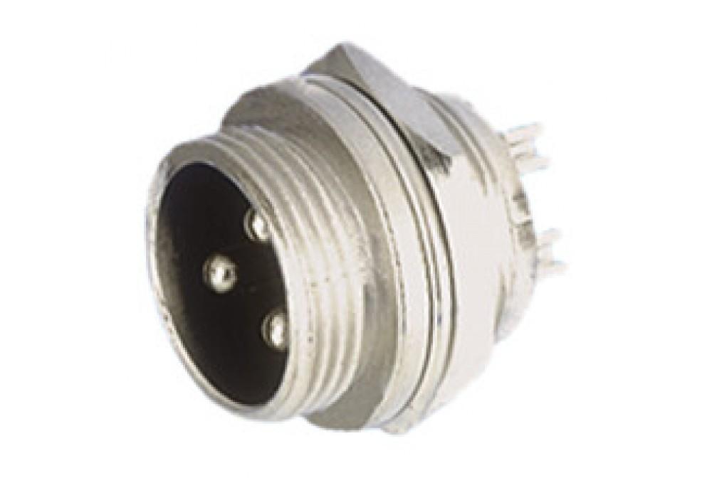 CONECTOR MICRO 6P MACHO CHASIS