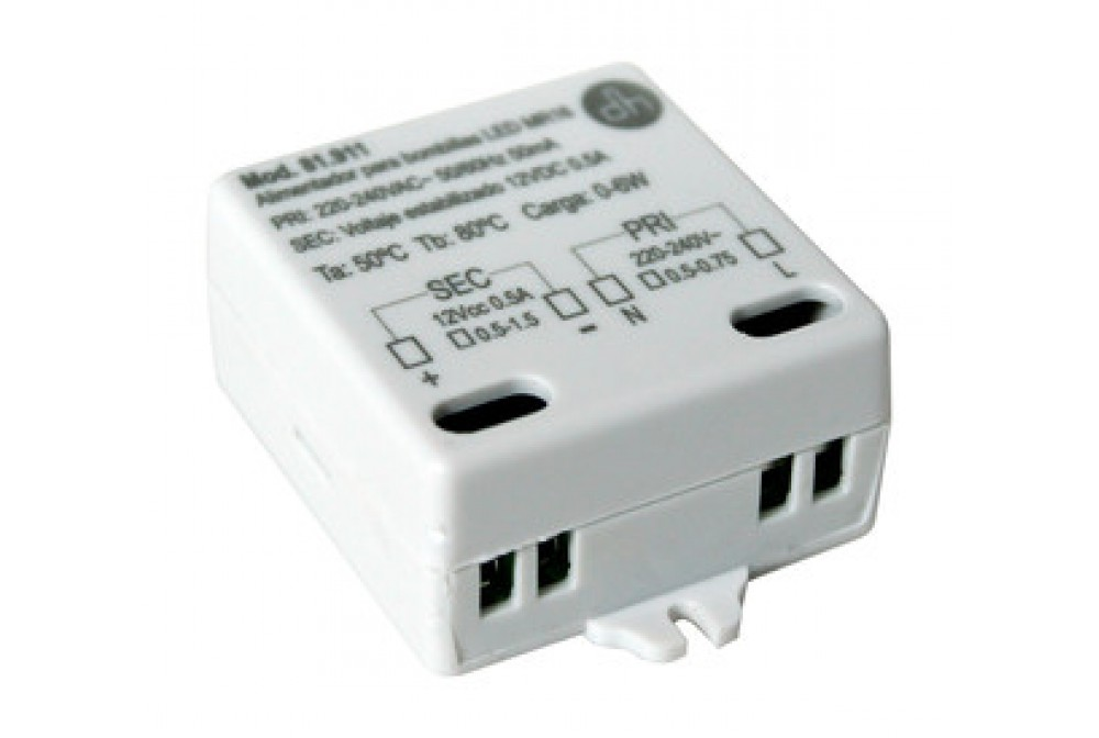 ALIMENTADOR BOMBILLAS LED MR16 12VDC