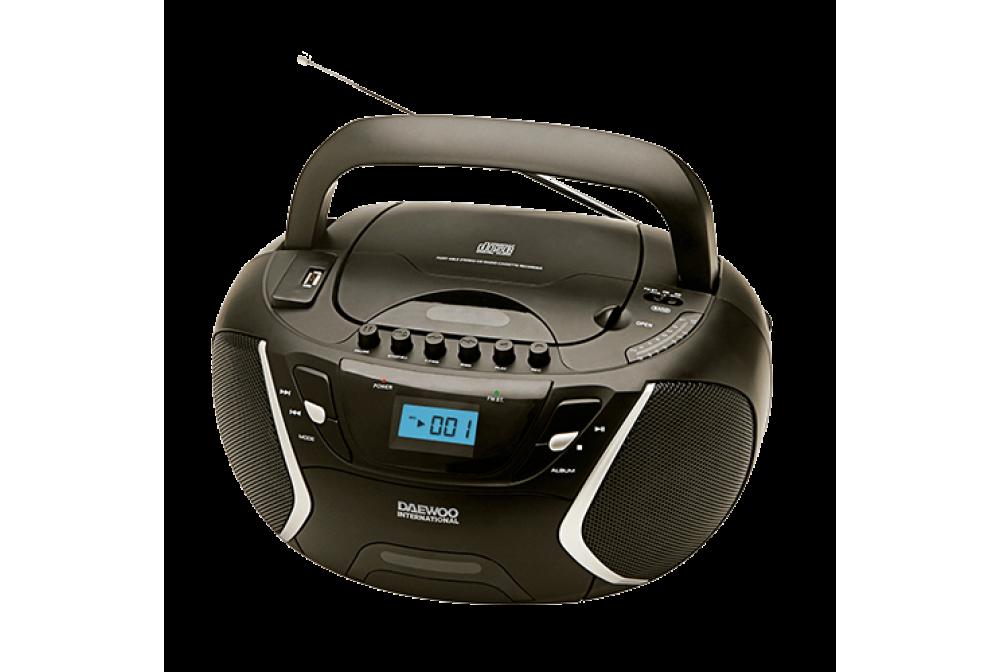 RADIO CD MP3 CON CASSETTE