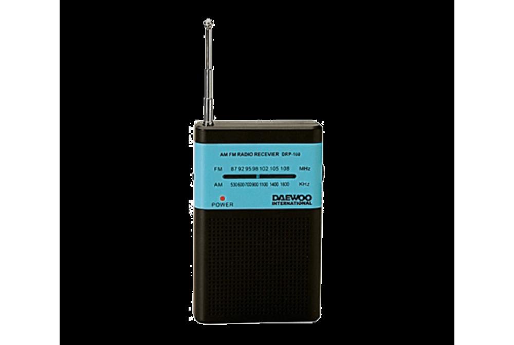 RADIO ANALOGICA PORTATIL DRP-100B NEGRO - AZUL